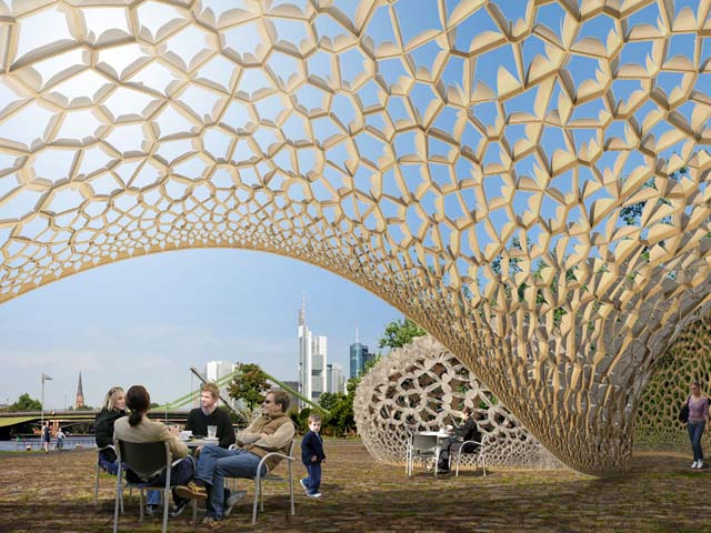 FAZ Pavilion Frankfurt, click to read more