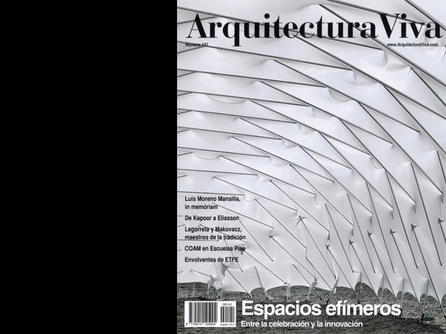 2012 publication of work arquitectura viva no 141analogas orgnicasl fernndez galiano