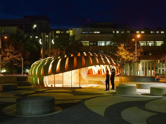 ICD/ITKE Research Pavilion 2010, click to read more