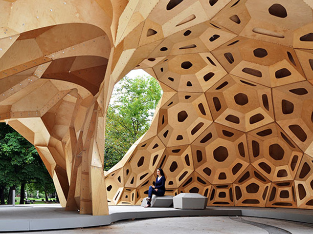 ICD/ITKE Research Pavilion 2011, click to read more