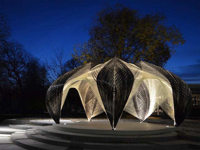 ICD/ITKE Research Pavilion 2012, click to read more