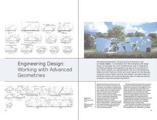 engineering design working with advanced geometries