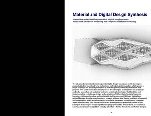 material and digital design synthesis